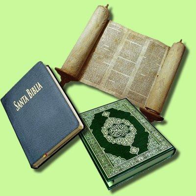 Comparación entre el Corán y los libros sagrado actuales más importantes