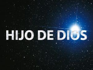 jesús hijo de Dios