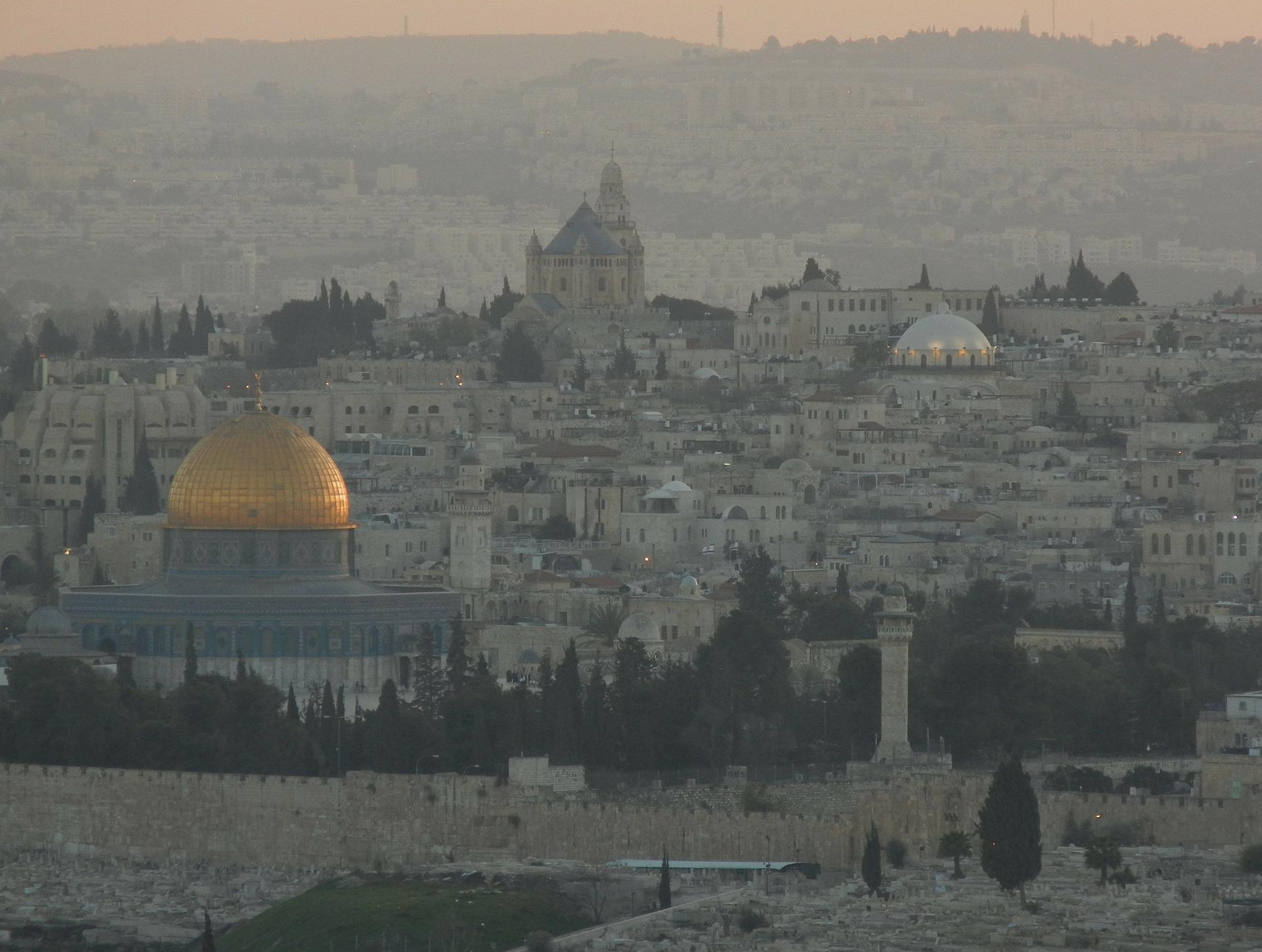 tensa Jerusalén