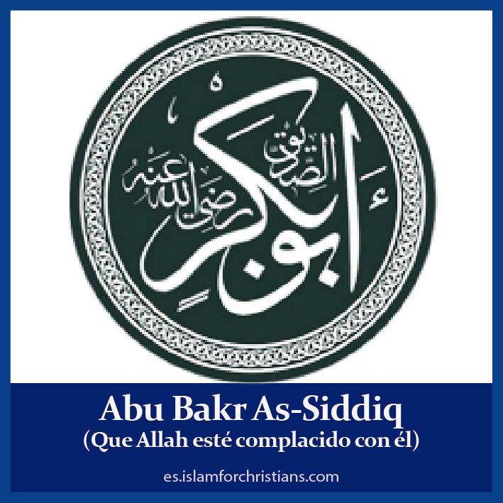 Abu Bakr Assidiq compañero